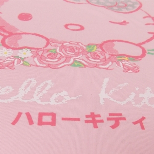 Blusinha Juvenil Sanrio Collection - Hello Kitty Flowers