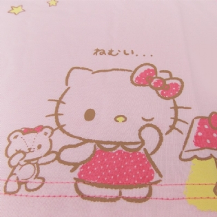 Camiseta Hello Kitty Nemui Sanrio Collection Infantil