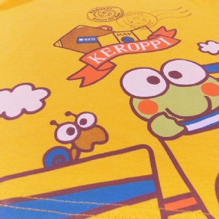 Regata Infantil Kero Kero Keroppi Sanrio Collection