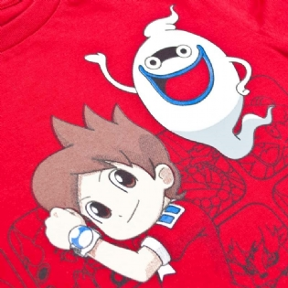 Camiseta Yo Kai Watch Keita E Whisper Juvenil