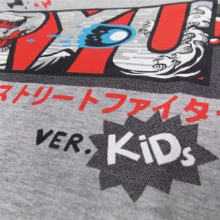 Camiseta Infantil Street Fighter - Ryu