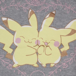 Camiseta Pikachu Couple Pokémon Juvenil