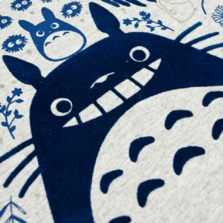 Baby Look Totoro Flocado Studio Ghibli
