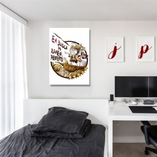 Placa Decorativa A2 Jndcd Collection Ramen Perfeito